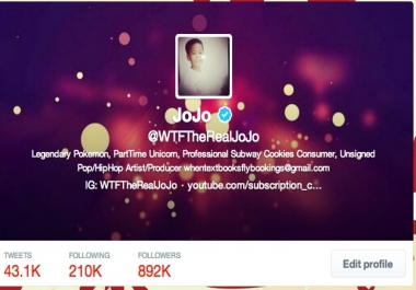 Follow you with my verified twitter account in 1 day