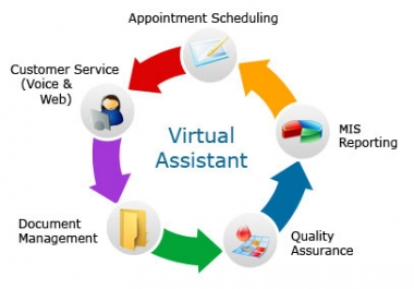 I will work as your virtual assistant for 3 hours