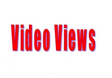give you 10,000 High Quality Social Media Video Views in Video Link