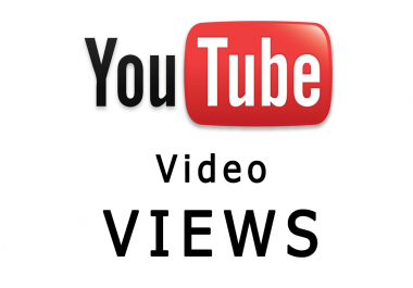 Send 2099+ You-tube views  You CAN splitt in 2 video Views is VERY FAST and SAFE and 20 like BONUS