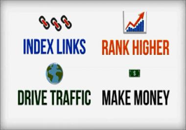 provide 10 web2.0 blog (DA 70 - 100) contextual backlinks 3000+ Backlinks index automatically