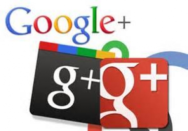give you 105 US base Google Plus Circle Followers for $1