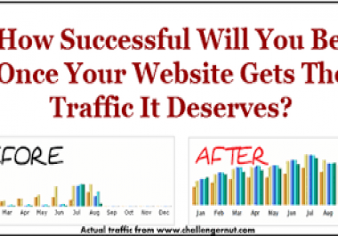 I will drive 100000 + website traffic visit your website  Worldwide