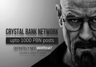Crystal RANK Network - 200 PBN Post
