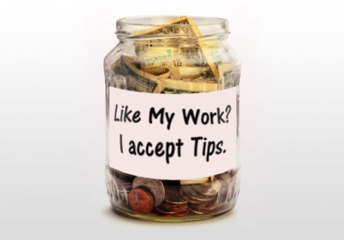 I will be more than happy to accept a TIP if you like... for $1