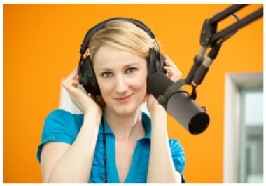 I will record a professional female British voiceove@!!#$%%!