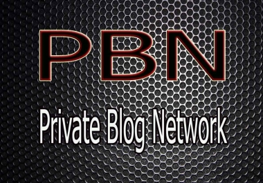 PBN (Private Blog Network) from Expired Domain
