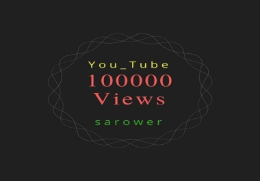 Add 100000 (100k) You_Tube V.iews Split max 100