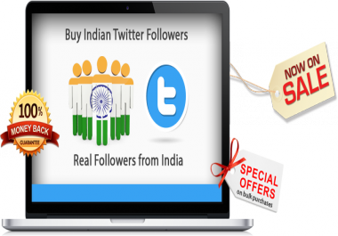 add 1000 Indian Twitter Follow on Your Profile HQ