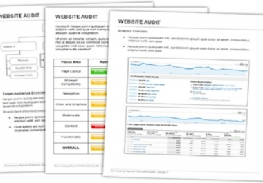 **audit your website with step by step approach Using IBP **