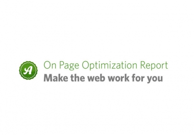 create a KILLER top 10 optimization report to improve your rankings