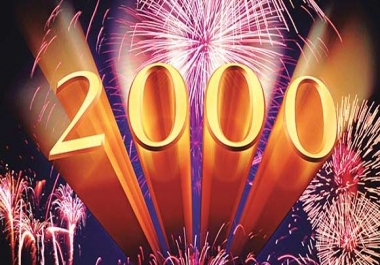 Fast 2000 Likes Or 2000 Views To Your Posts for $1