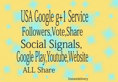 GIVE YOU 270 USA REAL REAL GOOGLE PLUS Follow