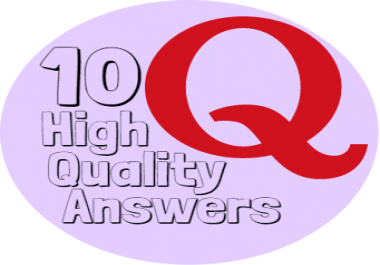 I can create 10 Quora Answers with your DIRECT LINK