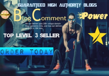 Rank 1 On Google, Yahoo & Bing, KILL Your Competitors ToDay - GUARANTEED RANKING With 30,000 live verified blog comment links,boost website ranking , gsa and 100000 Link submission Bonus