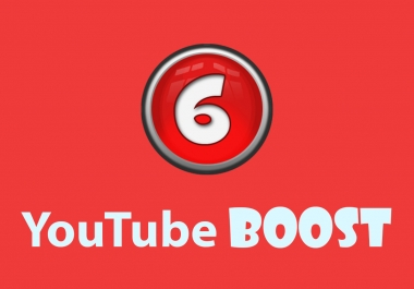 YouTube Boost - 100,000 views, 2000 likes, 500 subscribers, 400 favorites & 50 comments