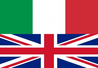 Italian translations up to 500 words