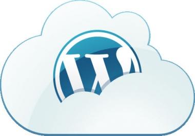 i will make complete wordpress website