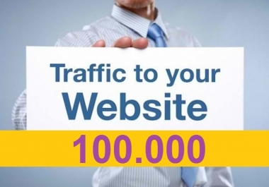 100000 Real website traffic in 30 days
