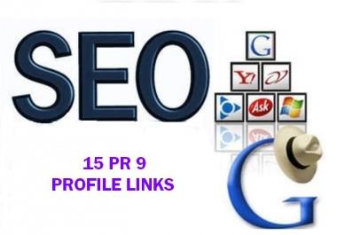 15PR9 and PR10 Domain backlinks for your Website