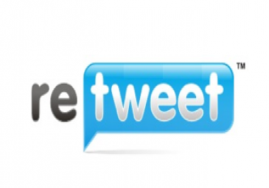 i will Give You 100+ Retweets Or 100+ Favorites for any Twitter Tweets