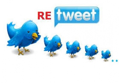 add 500++ High Quality  Followers or Retweets or Favo... for $1