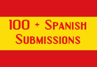 submit 110 Spanish Web directory submissions,Spain