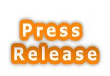 MANUALLY submit  your press release to Top 30 press release sites