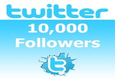 I will add 10000 twitter to your account