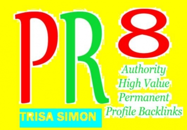 create 20+1 PR9 backlinks from 20 different PR 9 high authority sites