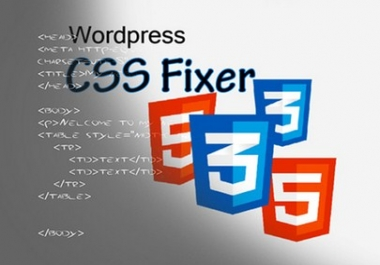 fix WordPress html css bug and responsive issues