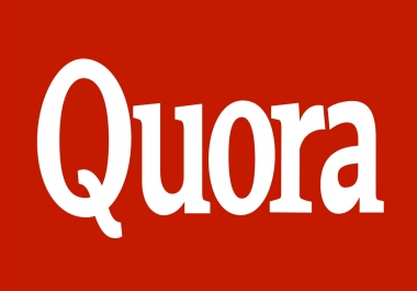 I will do 5 Quora Answers with your link from different accounts