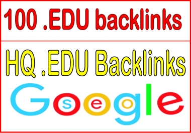 Build 100 HQ .EDU backlinks