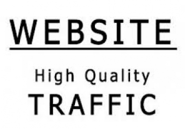 drive UNLIMITED real traffic to your site for 1 month..*/..
