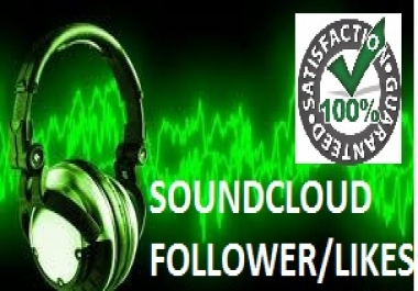 1600+ soundcloud follower within 48 hours