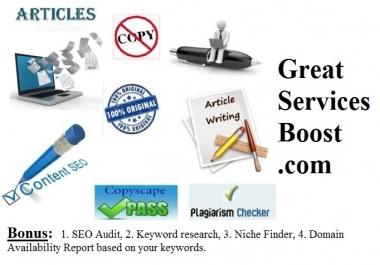 Convert articles into marketing videos
