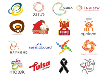 design 2 different professional logo varieties