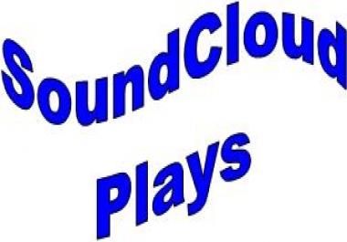Provide  400  Soundcloud Plays in your Selected Track for $1