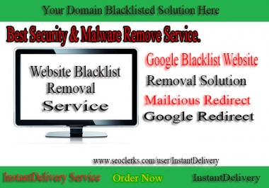 I Will Recover Your Google Blacklisted Website And Remove Malware Only