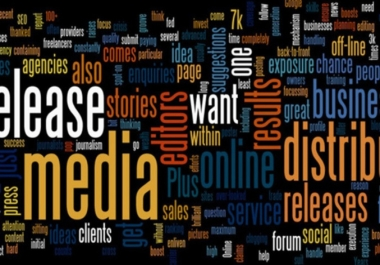 I will send Your Press Release to 1000 Relevant News, Magazines, TV, Radio, Online etc