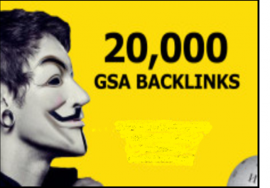 I will kaboom 20,000 High Quality GSA Backlinks For Extreme Search Rankings