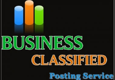 I will manually post your business in 31 high PR regional classified