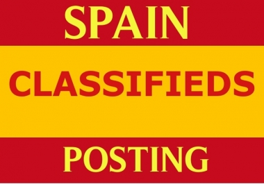 I will advertise your Business or Product service to 11 Spanish classified sites