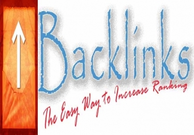 submit 500 DOFOLLOW backlinks for your site to improve its standing in Search Engines by Professional Seo