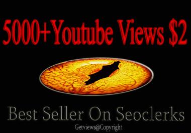 5000 Retention Youtube views