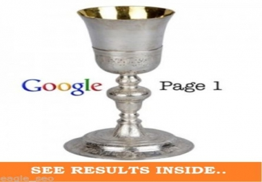 FIRST PAGE OF GOOGLE GUARANTEED FOR 10 KEYWORDS - ZERO RISK, ZERO SPAM