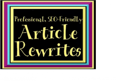 rewrite 150 words of article text or blog content
