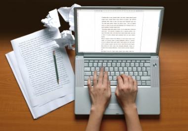 I will write a 2 x 400 unique articles of any niche