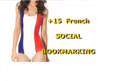 submit URL to 15 French Social Bookmarking Sites with Bonus
