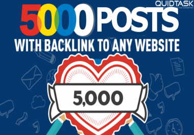 Promotional price - 5000 Do-Follow PBN Backlinks - Keywords Included